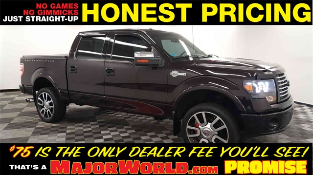 Pre-Owned 2010 Ford F-150 Harley-Davidson