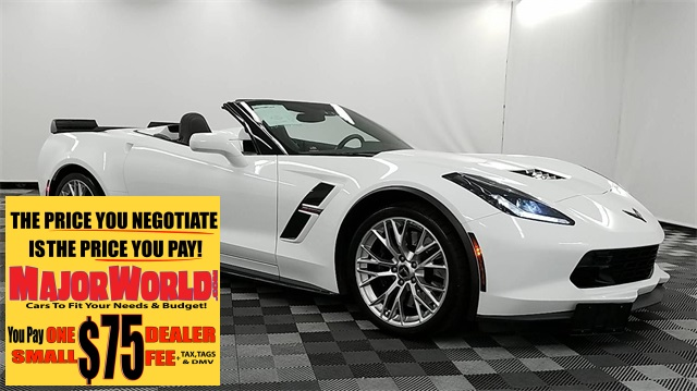 Pre-Owned 2018 Chevrolet Corvette Grand Sport