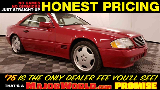 Pre-Owned 1995 Mercedes-Benz SL-Class SL 320