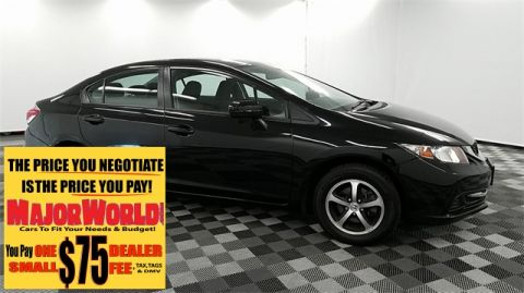 Pre-Owned 2015 Honda Civic SE