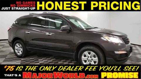 Pre-Owned 2017 Chevrolet Traverse LS