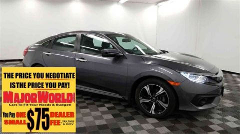 Pre-Owned 2016 Honda Civic Touring