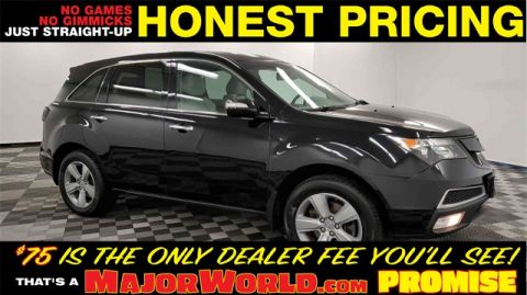 Pre-Owned 2013 Acura MDX 3.7L