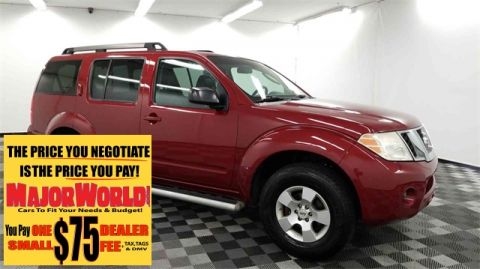 Pre-Owned 2008 Nissan Pathfinder S