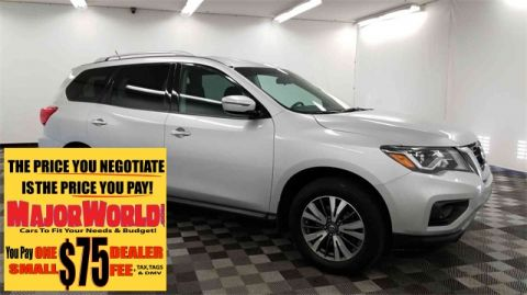 Pre-Owned 2017 Nissan Pathfinder S