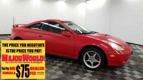 Pre-Owned 2000 Toyota Celica GTS